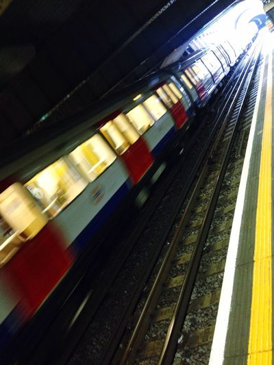 Tube Station  Lines&Design Train Tube Moving light Light And Shadow