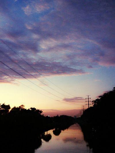 Langit sore , Dan aku selalu mencintainya ^_^ First Eyeem Photo