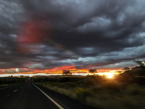 Passed Elephant Feet heading towards Red Lake Trading Post. The last glimpse of rays for the day. TonaleaAZ Redlakeaz Sunsetcolors Azsunset Azbeautiful Arizona Sunsets Arizonasunsetsarethebest Atmospheric Mood Into The West Beauty In Nature Sunsetphotography Cloudscape Dramatic Sky Storm Cloud Sunsetseries Car Point Of View Passenger Seat Photo Shoot Lightroom Iphone7plusphoto IPhone Photography Myownphotography EyeEm Viewing Eyesee Autumn 2016