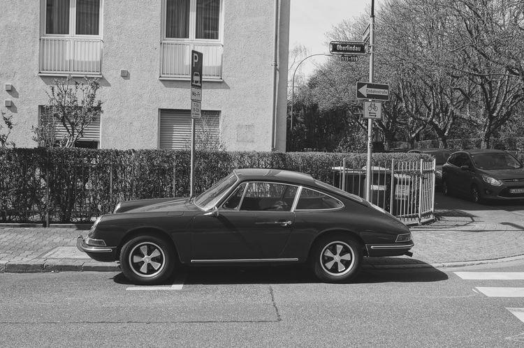 Enjoying Life Porsche Taking Photos Urban Geometry Blackandwhite Black & White Monochrome Car 🚗
