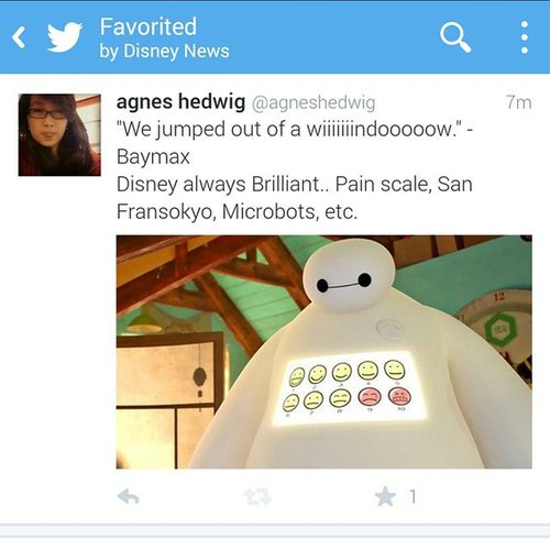 Favorited! Once again, Brilliant Movie from Disney Bighero6 Baymax a movie with a combine between PainScale Microbots and sanfransokyo ⭐⭐⭐⭐⭐⭐⭐