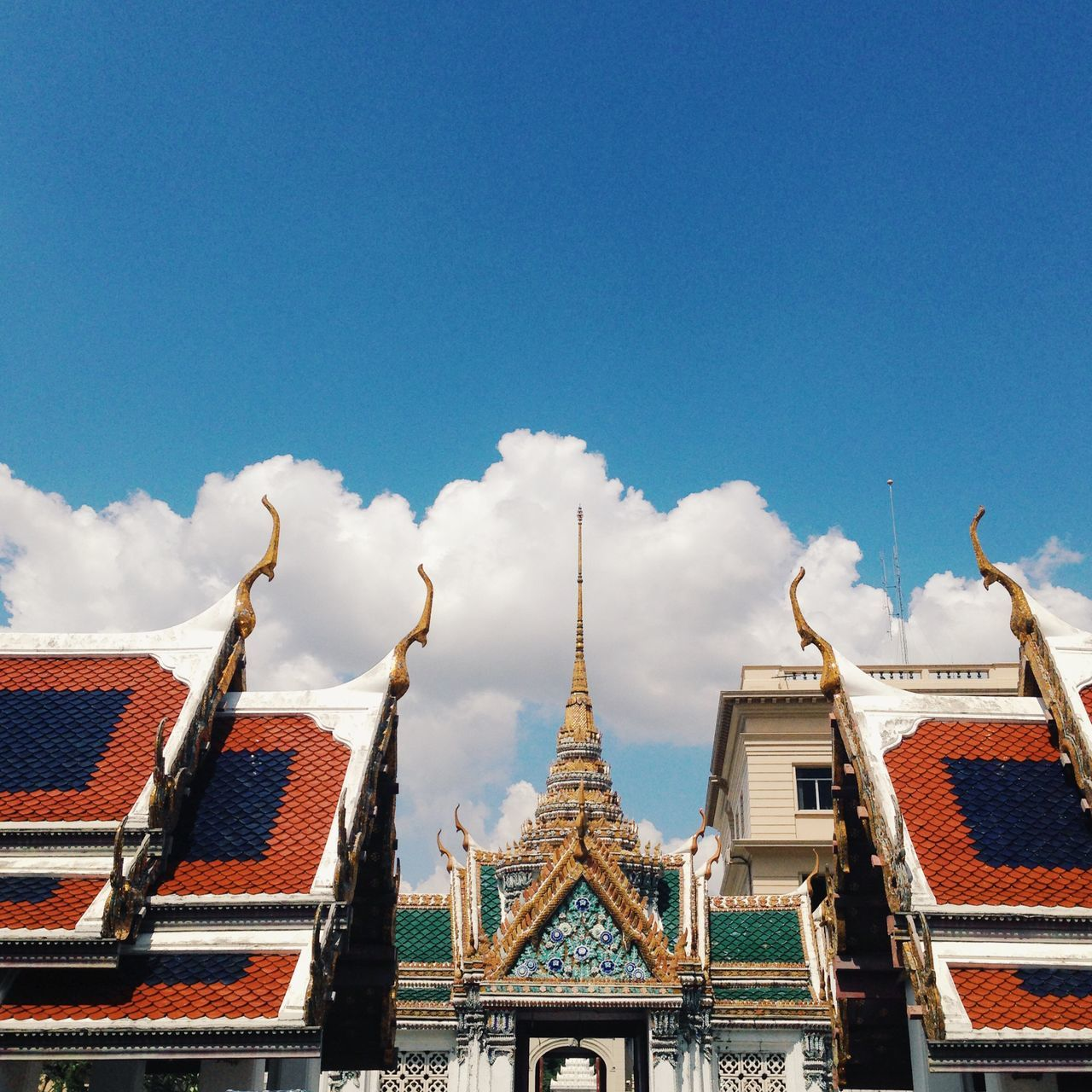Buildings at grand palace against sky