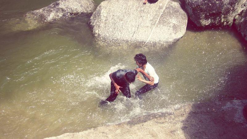 This is how best friend have fun haha Sundarijal Nepalipeople😊 Fun Best Friends 🌋