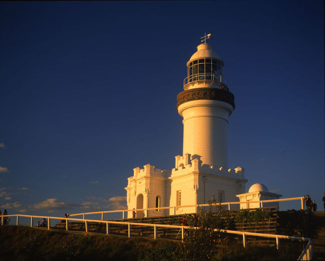 Eastern most point in Australia Byron Bay Lighthouse Light House Architecture Building Exterior Built Structure Day Low Angle View No People Outdoors Sky