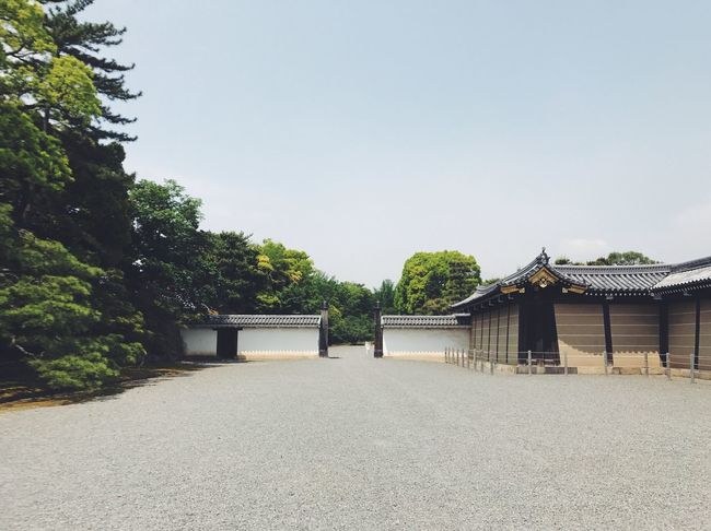 Nijo Castle IV - Pathway Architecture Outdoors Clear Sky Landscape Sky Kyoto