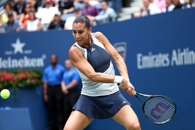 Brava Flavia! Usopen Lookals Italy Playing Tennis New York