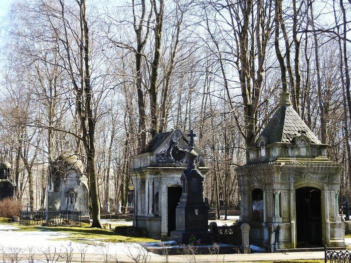 Crypt Crypt Tomb Sankt-Petersburg Russia Colors Of Sankt-Peterburg Sankt-peterburg Trees Walking Around Cemetery Memory Memories Old Springtime Sunnyday☀️