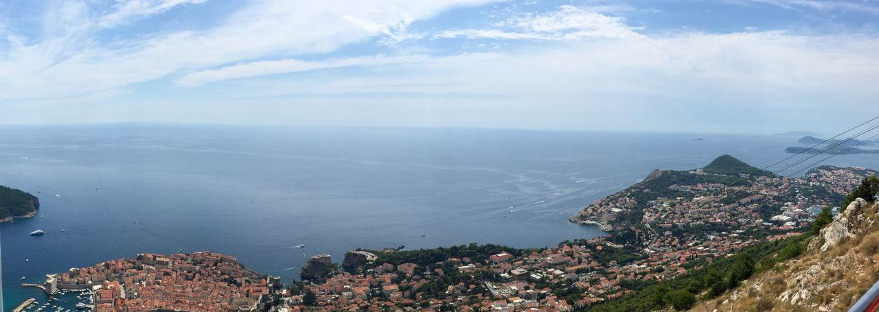 Dubrovnik vom Berg Srd EyeEm Selects Building Exterior Water Architecture Cloud - Sky Sea Built Structure