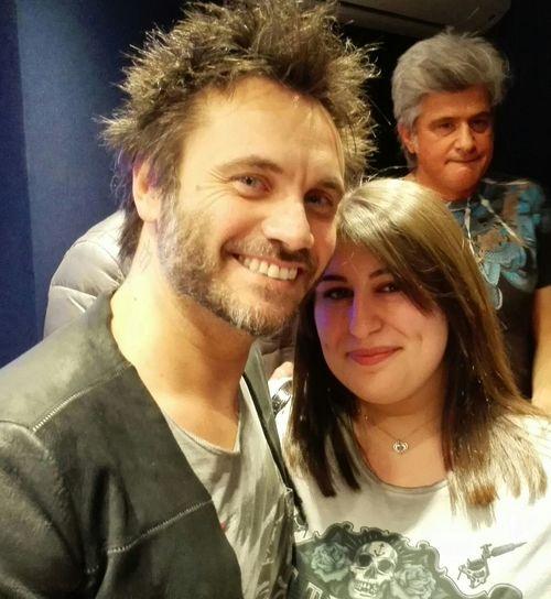 Incontrare il proprio idolo... Ho realizzato un sogno!!! ❤❤❤Nek Filipponeviani Dream Handsome Happiness
