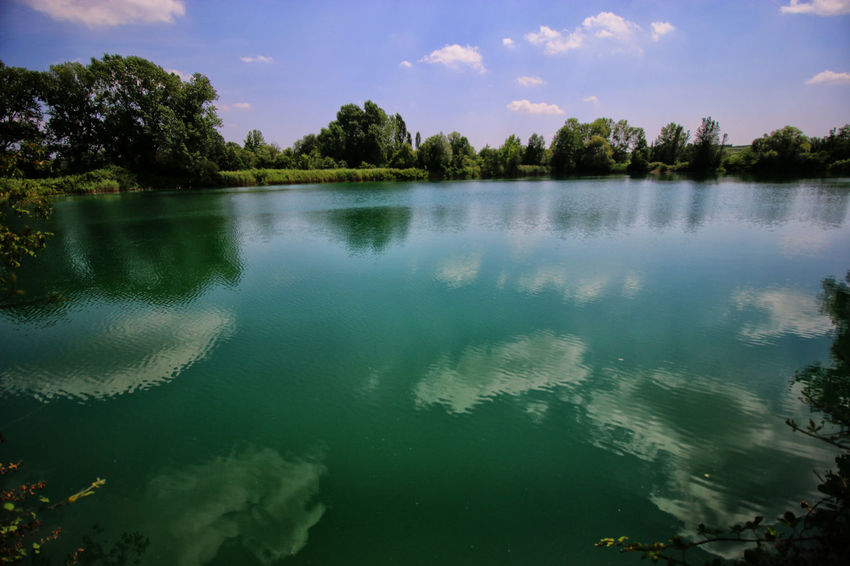 Landscape Tranquil Scene Water Torbiere Sky Paesaggio No People Torbieredelsebino Clouds And Sky Landscape_photography Nature Green Acqua Verde Landcsape Montagne Mountain Reflection Cloud - Sky Beauty In Nature Riflessosullacqua Tree Reflection In The Water