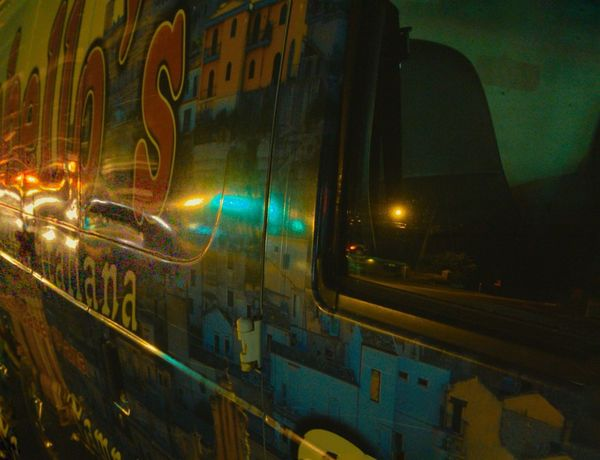 Delivery Truck Cortex Cam Textures And Surfaces Light And Shadow Nightphotography Natural Light Reflection Streetphotography Walking In The Dark Colors