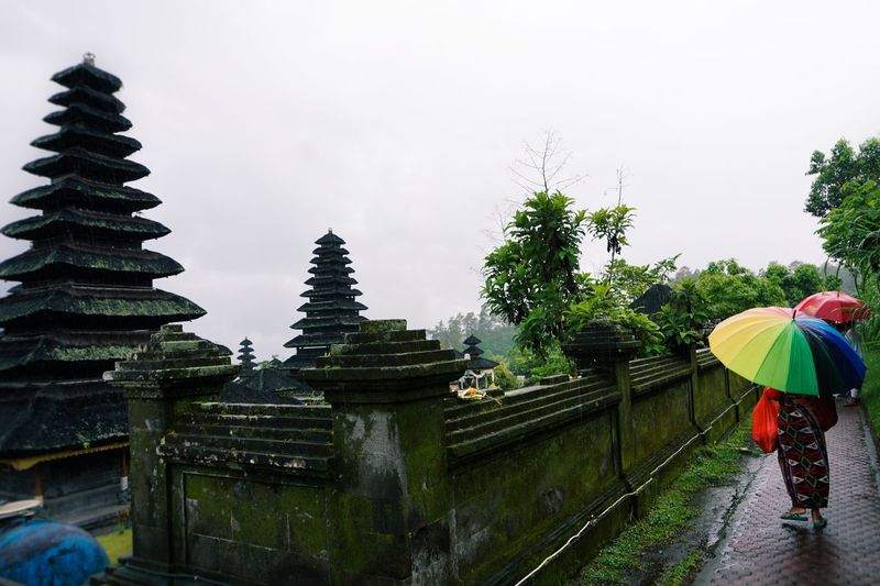 Following a tour guide at besakih temple... Rainy Days Raining Besakih Temple Bali INDONESIA Local Life Way Of Life The Following Feel The Journey