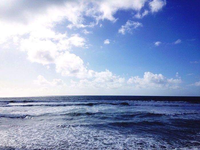 Es Primavera En Este Invierno Azul Saudade en la Playa