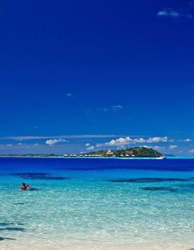 Lovely My Parades Landscape French Polynesia Bora Bora  Maldive