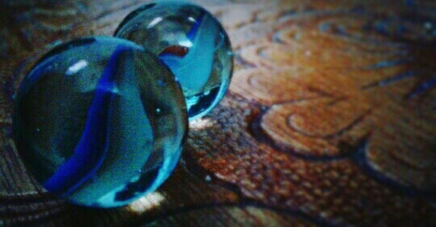 Bleu Childhood Memories Bouncy Ball