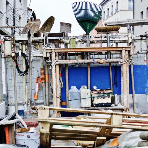 Equipment At Petrochemical Plant