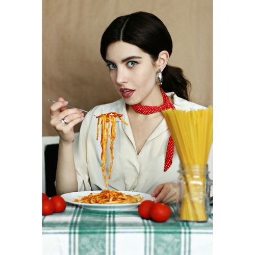 Everything you see I owe to spaghetti. 🍝🇮🇹♥️ Good Morning Food Spagetti Spaghetti <3 Pasta Food And Drink Foodporn Foodphotography Italian Food Italy Model Modeling Fashion Fashion Model Fashion Photography Women Italiangirl Rome Milano Napoli EyeEmNewHere EyeEm Best Shots EyeEm Selects Pornfood Lady