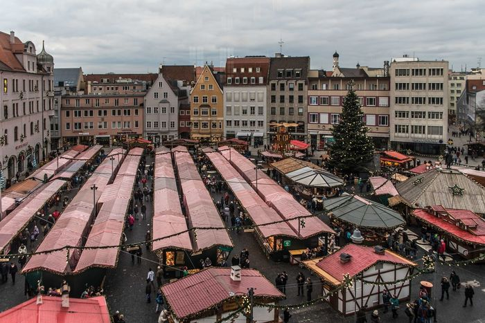 Weihnachtsmarkt Building Exterior City Cityscape Outdoors Roof