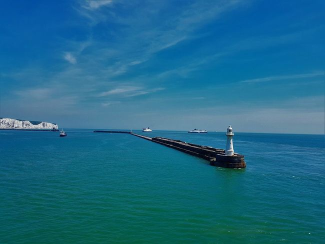 Port of Dover UK 2018 2018 2018 EyeEm 2018 Year Dover Dover, England England, UK English Channel Great Britain Kent Kent UK P&O POFerries Travelling United Kingdom Day Ferries Kent England Outdoors P&o Ferries Photography Pictures Port Of Dover Sea And Sky Uk England Water