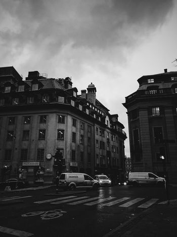 Stockholm Car Architecture Building Exterior Built Structure Land Vehicle Street Transportation Mode Of Transport Outdoors Road Cloud - Sky City No People