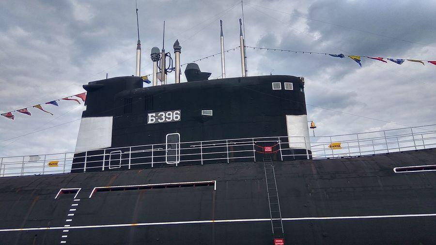 Cloud - Sky Sky No People Day Submarine Moscow Ship Submariner