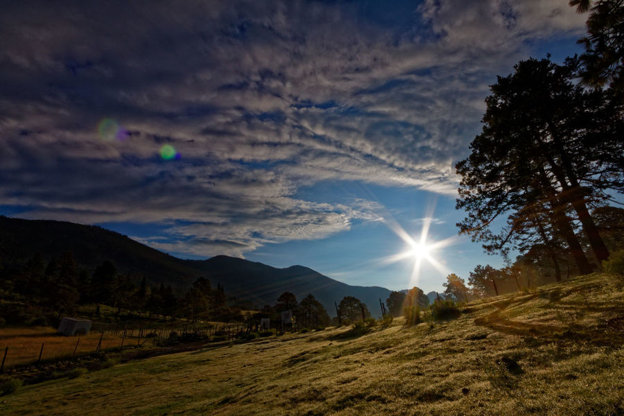Tarillal Beauty In Nature Bright Counterlight Landscape Lens Flare Majestic Mountain Mountain Range Scenics Sun Sunbeam Tranquil Scene Tranquility Dawn Scenics Finding New Frontiers Live For The Story