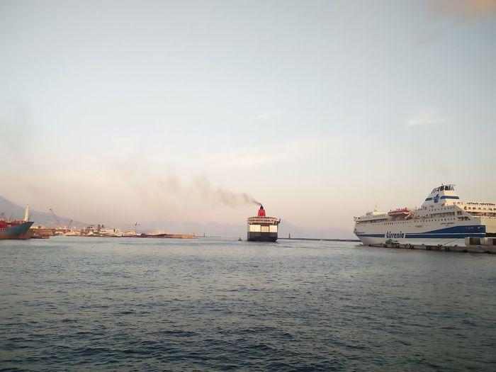 Partenze Tirrenia EyeEm Selects Water Nautical Vessel Sailing Sea Harbor Sailboat Beach Yacht Lighthouse Ship Tall Ship Sailing Ship