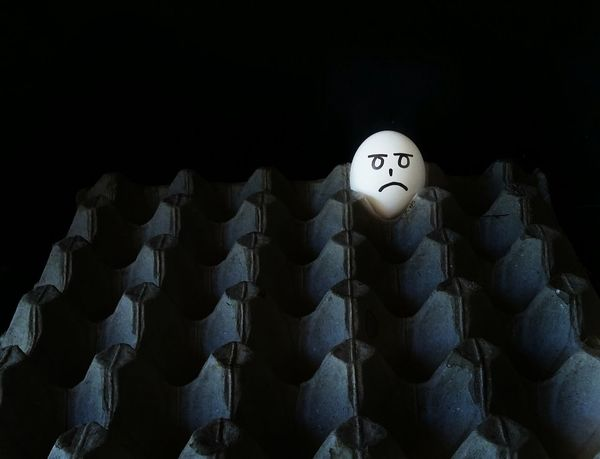StillLifePhotography Still Life Black Background Egg Alone In The Dark Alone