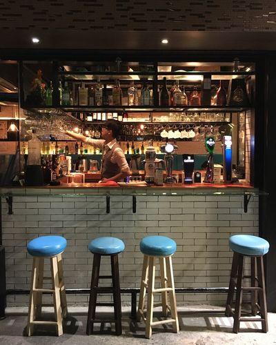 Bar Bar - Drink Establishment Bar Counter Drink Drinks Drinks Drinks After Work Drinks! Drinkstime Food And Drink Restaurant Restaurant Decor Restaurant Interior Design Restaurant Scene Visual Feast