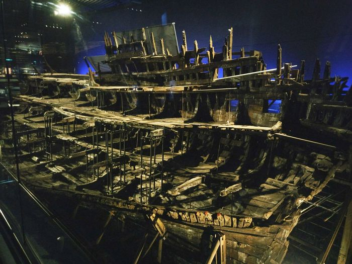 MaryRoseMuseum MaryRose No People Night Illuminated Navy Ship Henry VIII Ship Ancient Wreckage