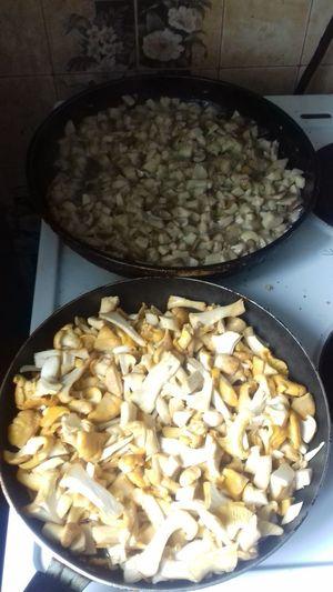 #mushrooms Mushrooms 🍄🍄 Mushrooms Mushroom Nature Boletus боровик Белый гриб лето Fungus Chanterelle Mushrooms Chanterelle грибы лисички грибнойсезон Domestic Room Italian Food Homemade Preparation  Preparing Food Food And Drink Close-up