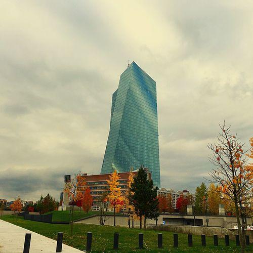 Europäische Zentralbank, Frankfurt am Main First Eyeem Photo