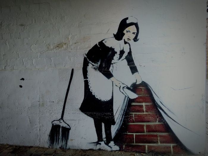 Bansky Fake Graffiti Art Banbury United Kingdom First Eyeem Photo