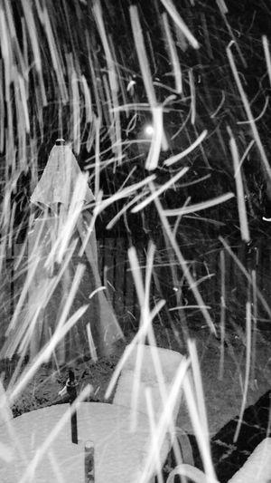 April snow... Snowinapril Goawaywinter Canada B&w