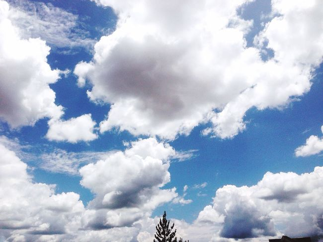 Blue sky Sky Cloud Beauty In Nature Tunja Tranquility Nature Cloudscape Non-urban Scene Byme no filter
