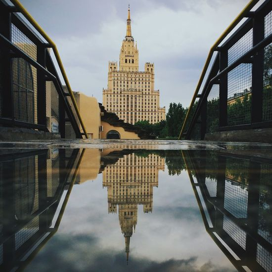 Moscowinpuddles Vscocam Architecture Urban Reflections