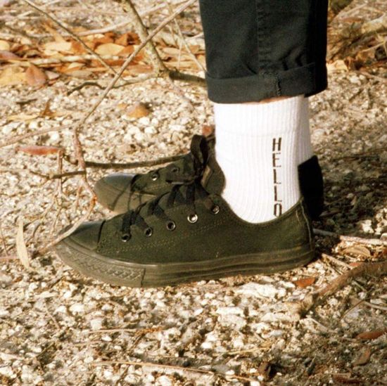 Shoe Low Section Human Leg One Person Standing Day Outdoors One Man Only People Close-up Adults Only Converse Converse All Star 35mm Film Pentax Hello