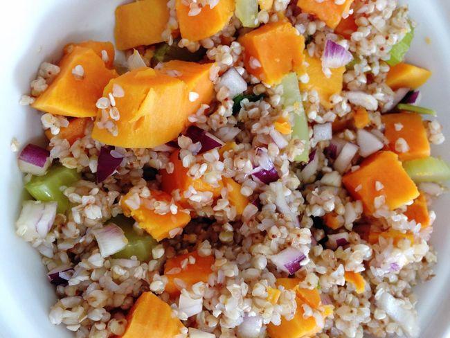 Buckwheat Vegetables Sweet Potatoes Onions Celery 365 Photos In 2015 POV Vegan Food Vegetarian Food Healthy Food