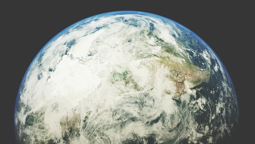 Earth From Space Planet Earth Satellite View Earth View From Space Planets Rendering 3d Rendering