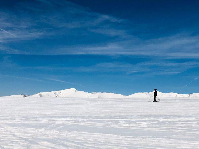 Snow Cold Temperature Winter Sky Mountain Scenics - Nature Beauty In Nature