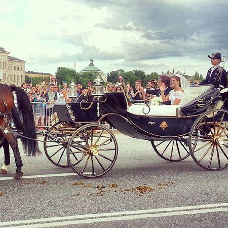 Royal wedding Royal Royalties Wedding Stockholm sweden king princess