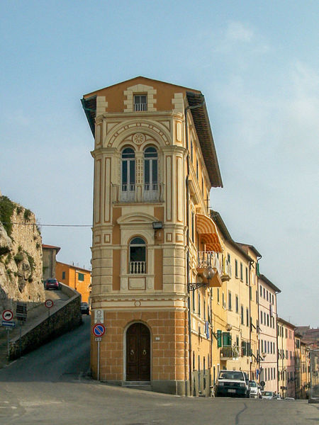 Architecture Building Exterior Built Structure City Day Italy Low Angle View No People Outdoors Portoferraio Sky