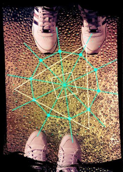 Teramo with love. Footprints Cosmicgeometry Foot Lovelovelove