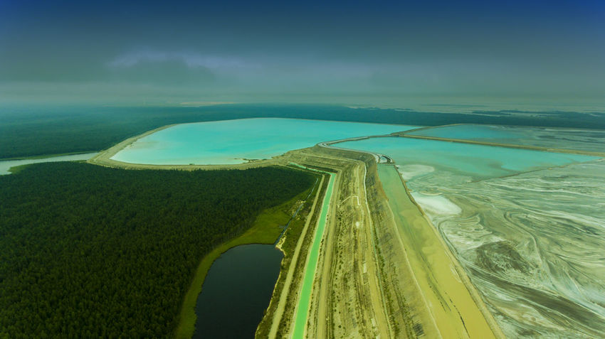 Aerial View Blue Water Estonia Forest Green Color High Angle View Landscape Lye Mountain Mountain Lake Nature No People River Waste Water