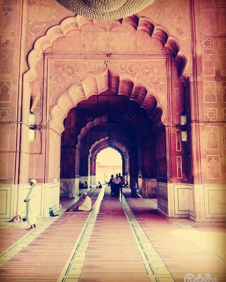 Dehli JamaMasjid Muhgal Architecture Arches First Eyeem Photo