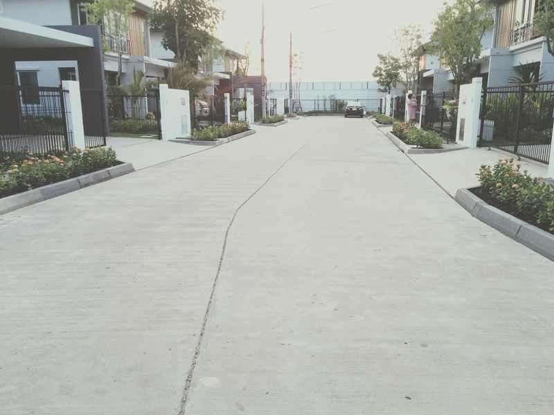 Housing Estate Housing Property Housing Project House Housings Home Concrete Road Adapted To The City