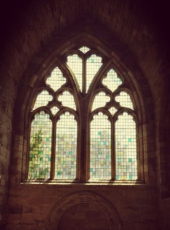 Window Indoors  Arch Architecture History Built Structure No People Place Of Worship Day Travel Destinations Scotland 💕 Scotland Travel Summer 2017 Eyem Masterclass The Great Outdoors - 2017 EyeEm Awards Place Of Worship Church Windows