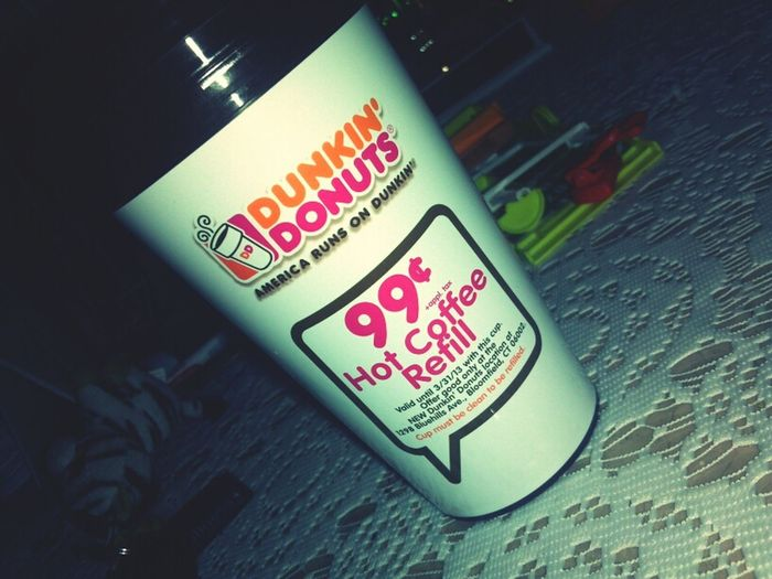 Beforeschool Coffee! Fillin' Up For 99¢  99¢ Frenchvanilla