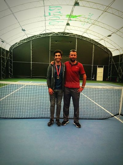 Tennis 🎾 🎾🎾🎾🎾🎾🎾🏉🏉🏉🏉⚾️⚾️⚾️⚾️⚽️⚽️⚽️⚽️🏈🏈🏈🏈🏈 Tennis Court Two People Mid Adult Men Young Men Only Men Tennis Player Tennistime Tennis Club Sport Sportsman Sport Time Champion Champions First Eyeem Photo