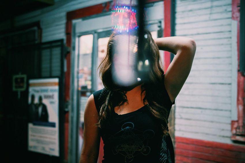 Getting Creative Prism Reflection Convenience Store Portrait Portrait Of A Friend Redhead Night Photography Portrait Of A Woman TwentySomething The Week On EyeEm Showcase: November November